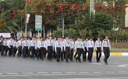 29 octobre célébration de jour de République de la Turquie Photographie stock libre de droits