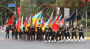 29 octobre célébration de jour de République de la Turquie Photos libres de droits