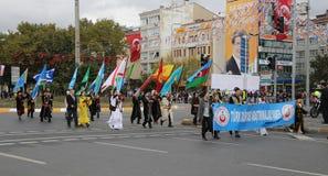 29 octobre célébration de jour de République de la Turquie Images stock