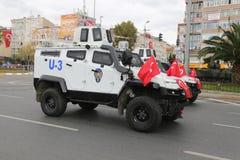 29 octobre célébration de jour de République de la Turquie Images libres de droits