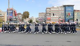 29 octobre célébration de jour de République en 2017 Photo libre de droits