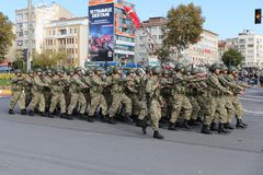 29 octobre célébration de jour de République en 2017 Images stock