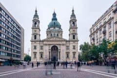 17 octobre 2016 Cathédrale d'Istvan de saint, Budapest, Hongrie Photographie stock libre de droits