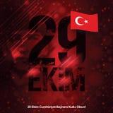 29 octobre République Image stock