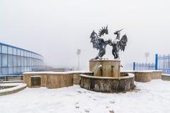 Octobre 2017 - Varna, Bulgarie - les dragons dans l'amour Photos stock