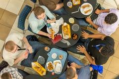 2 octobre 2014 : Washington, C.C - la vue intérieure des personnes voyagent Photographie stock