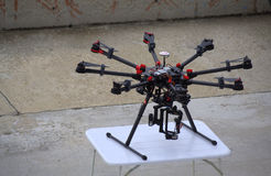 Octocopter 库存照片