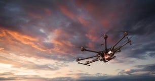 Octocopter, copter, κηφήνας στοκ εικόνα