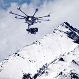 Octocopter, copter, drone Royalty Free Stock Photos