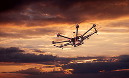 Octocopter, copter, drone Royalty Free Stock Photo