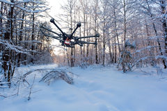 Octocopter, copter, drone Royalty Free Stock Images