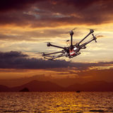 Octocopter, copter, drone Royalty Free Stock Photography
