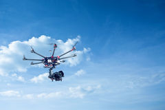 Octocopter, copter, drone Stock Photography