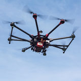 Octocopter, copter, quadrocopter Στοκ Εικόνες
