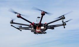 Octocopter, copter, quadrocopter Stock Photos