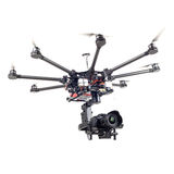 Octocopter, copter, quadrocopter Stock Photography