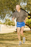 Octogenarian Runner athlete Royalty Free Stock Photography