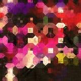 Octogon-Geometriemalerei Lizenzfreies Stockbild