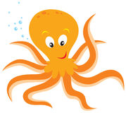 Octopus. Vector clipart / illustration for your design and scrapbook Stock Photo