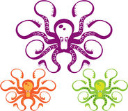 Octopus Art Stock Image