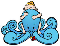 Octopus Baby Stock Images