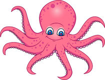 Octopus cartoon Royalty Free Stock Image