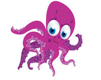 Octopus cartoon Royalty Free Stock Images