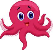 Octopus cartoon vector illustration