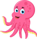 Octopus cartoon for you design Royalty Free Stock Image