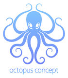 Octopus concept design Royalty Free Stock Image