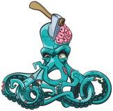 Octopus de Zombie Stock Foto's