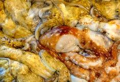 Octopus at Fish Market Stock Photos