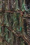 Octopus fishing traps. Close up view of several octopus fishing traps Royalty Free Stock Photos