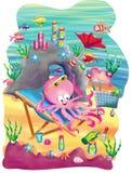 Octopus garden Stock Images