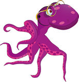 Octopus the grandfather Royalty Free Stock Image