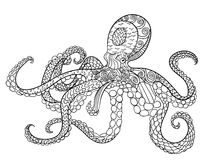 Octopus with high details. Stock Photo