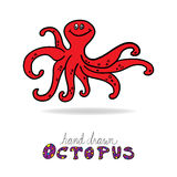 Octopus  illustration Royalty Free Stock Photos