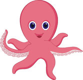 Octopus. Illustration of a octups clip art Stock Images