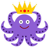 Octopus king Stock Photo