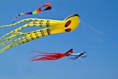 Octopus kite Royalty Free Stock Photos