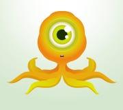 Octopus Monster. Cute Octopus Monster. Cartoon Character vector illustration