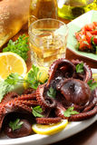 Octopus Salad Royalty Free Stock Photography