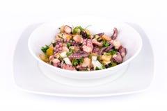 Octopus salad. Stock Photo