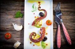 Octopus Salad Stock Photography