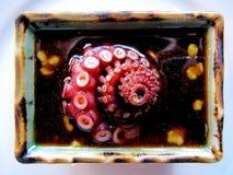 Octopus sashimi Royalty Free Stock Photo