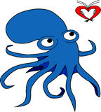 The octopus Royalty Free Stock Images