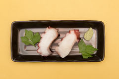 OCTOPUS SUSHI, JAPANESE FOOD Stock Images