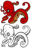 Octopus swimming Royalty Free Stock Photo