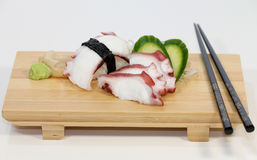 Octopus (Tako) Sushi Royalty Free Stock Image