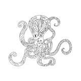 Octopus Tattoo Stock Photo